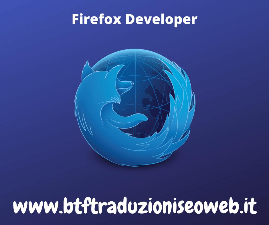 firefox developer