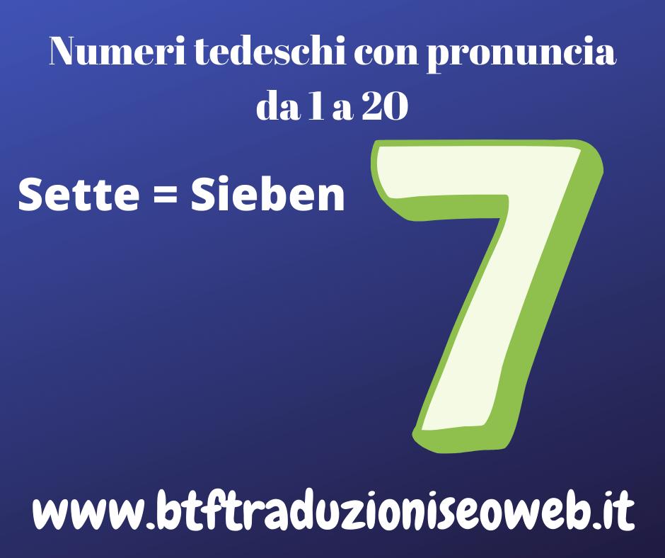 sette sieben