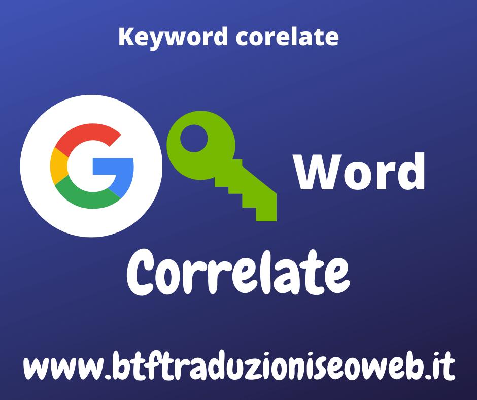 keyword correlate